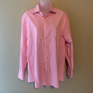 Charles Tyrwhitt Slim Fit Gingham Shirt, 16 Neck